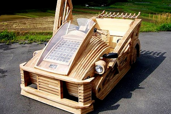 Wood you Believe it? Japan's intriguing New Supercar