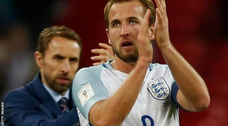 Harry Kane and England Team for World Cup 2018