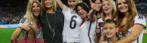 The Most Famous Football Wives